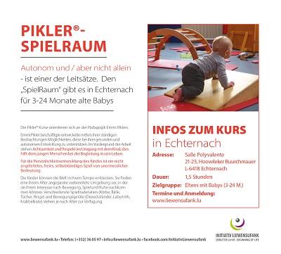 PIKLER®-SPIELRAUM KURSE