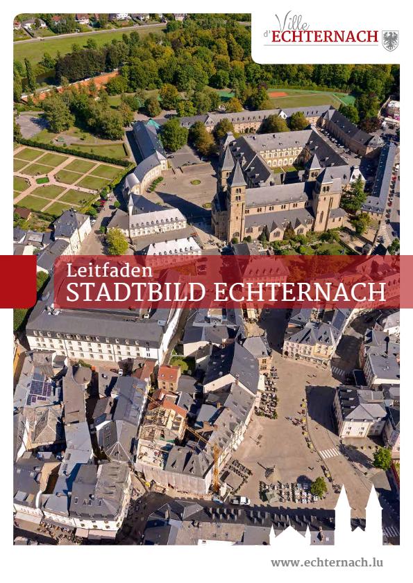 Leitfaden Charta Stadtbild Echternach